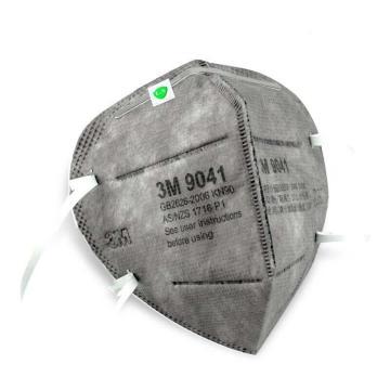 3M 防尘及有机气体口罩,9041,KN90/P1 耳戴式活性炭口罩,25个/盒