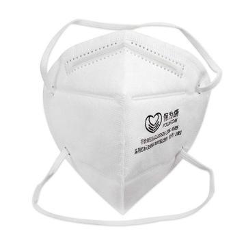 保为康 防尘口罩,1861,KN95 折叠式防尘口罩 头带式 白色