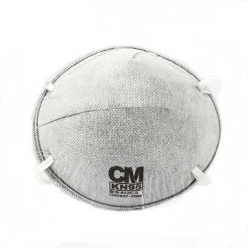 朝美 防尘及有机气体口罩,8228-2,KN95 杯型头带式活性炭防护口罩,20只/盒