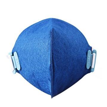 朝美 2001型(蓝)折叠式防尘口罩-KN95,1个