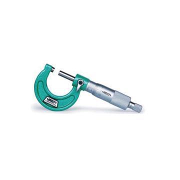 英示 INSIZE 外徑千分尺,0-25mm、不配標準桿,3203-25AC,不含第三方檢測