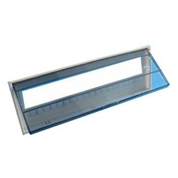 正泰CHINT 配电箱附件,PZ30-20回路的铁面板及塑料面板(单排)
