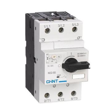 正泰CHINT 電機保護斷路器,NS2-80B/63