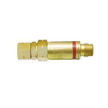 捷銳減壓器用氣體回火防止器,FA10RF,適用氣體:乙炔、丙烷、天然氣,工作壓力:15psi