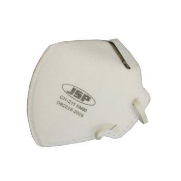 JSP CH-211 KN90经济折叠防尘口罩,单片独立包装,30个/盒