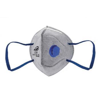 南核 1207 KP95耳带式有机气体防尘口罩,2个/袋,30个/盒