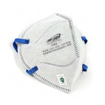南核 1008 KP95头戴式有机气体防尘口罩,2个/袋,50个/盒