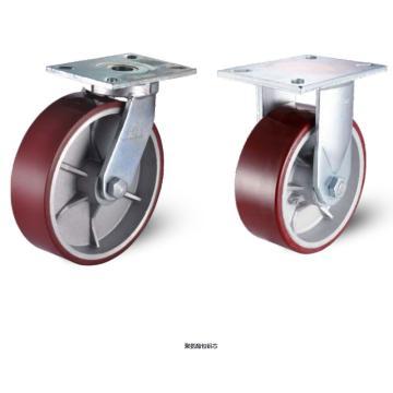 200锻压钢底板型抗冲击活动脚轮,轴承 滚柱