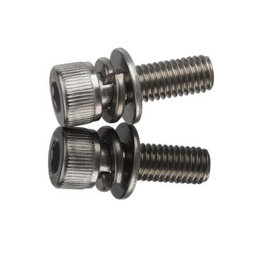 西域/EHSY 內六角圓柱頭三組合螺絲,M5-0.8X10,不銹鋼304,100個/包
