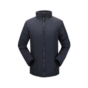 雷克兰时尚款新雪丽户外防寒夹克(蓝色)含内胆,PR12+T200,L