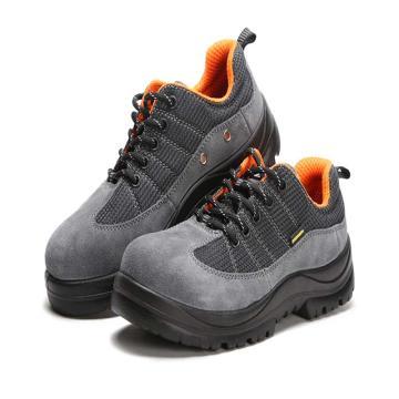 羿科 运动安全鞋,60725106-42,防砸防刺穿防静电安全鞋