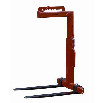 虎力 起重货叉,工作载荷(T):1,可调货叉宽度(mm):350-900,挂钩高度(mm):1390-1890