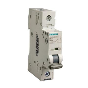 西门子SIEMENS 微型断路器 5SY6 1P 10A D型 5SY61108CC