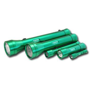 世达普通手电筒, 90742A LED光源 (适配3节1号干电池,不含干电池)