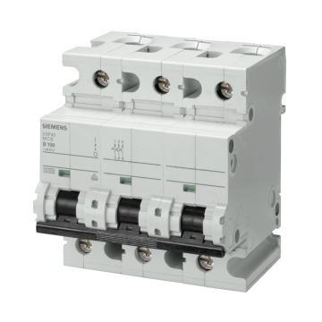 西门子SIEMENS 重载型微型断路器,5SP4 3P C80,5SP43807