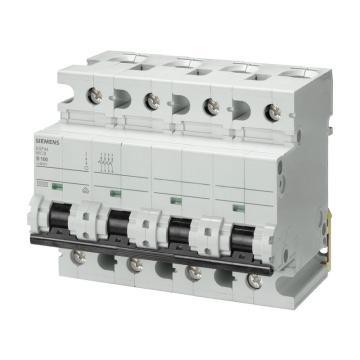 西门子SIEMENS 重载型微型断路器,5SP4 4P C125,5SP44927