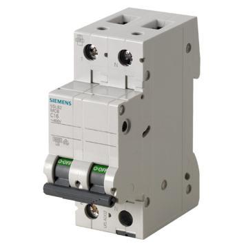 西门子SIEMENS 微型断路器 5SL6 2P 1A B型 5SL62016CC OEM专用