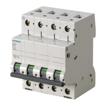 西门子SIEMENS 微型断路器 5SL6 4P 4A B型 5SL64046CC OEM专用