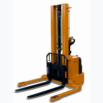 虎力 宽支腿全电动堆高车,(可调)1.5T210~825*1150mm高度2.8m