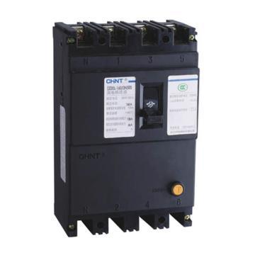 正泰CHINT 塑壳漏电断路器,DZ20L-160/4300 63A 100mA