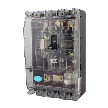 正泰 塑壳漏电断路器,DZ20L-160/4300 63A 100mA 透明型