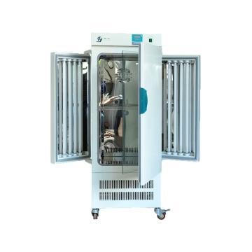 人工气候箱,RQH-250,控温范围:5~45℃/10~45℃(无光照/有光照),工作室尺寸:500x450x1000mm