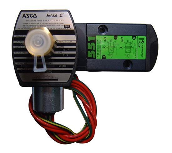 ASCO电磁阀,SCG551A002MS,0.15~1MPa,AC220V
