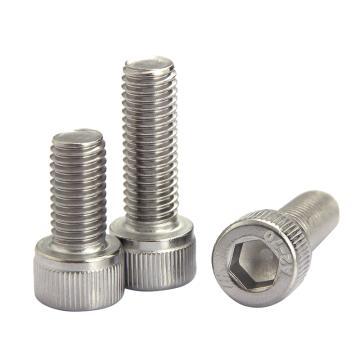 内六角圆柱头螺钉,ISO4762,M4*6,不锈钢A2/SUS304,500个/包