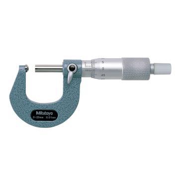 三豐 mitutoyo 管材千分尺,(球面測砧)0-25*0.01mm,115-115,不含第三方檢測