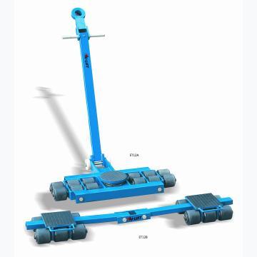 虎力 美式滑动轮,额定载重量(T):12,轮子数量:16,外形尺寸(mm):990*600