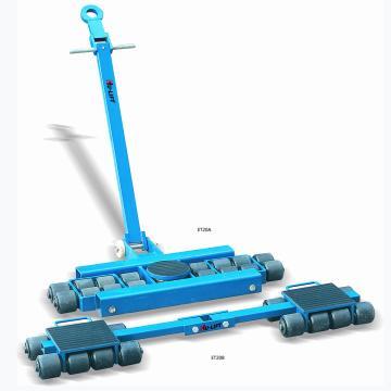 虎力 美式滑动轮,额定载重量(T):20,轮子数量:16,支撑面尺寸(mm):280*220