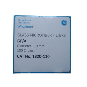 Whatman玻璃微纤维滤纸(无粘合剂),GF/A,11.0CM,100/PK