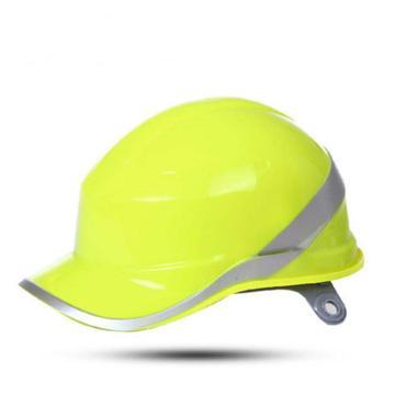 代尔塔  102018 DIAMOND V ABS绝缘安全帽,黄色