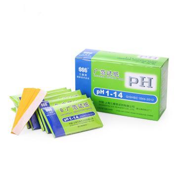 PH广泛试纸,PH1-14,20本/盒