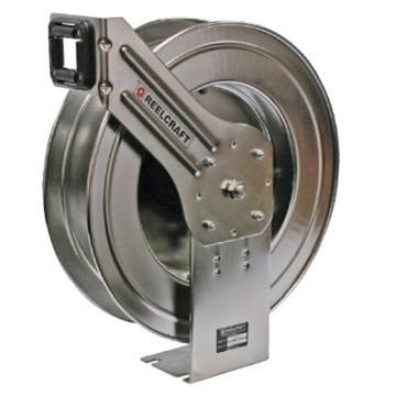 弹簧驱动不锈钢卷轴,低压,不含软管,LC807 OLS