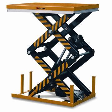 虎力 双剪电动升降平台,载重(T):2T,台面尺寸(mm):1300*850,起升范围(mm):1780/360