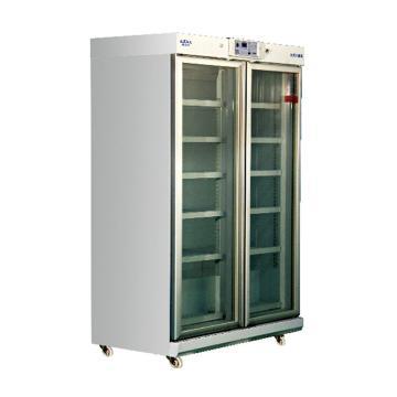 澳柯玛冷藏箱,YC-1006,箱内温度2~8℃,内部尺寸:1100x585x1740mm
