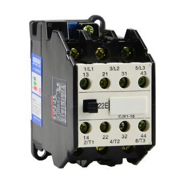 德力西 直流线圈接触器,CJX1-16/22Z 24V,CJX11622BZ