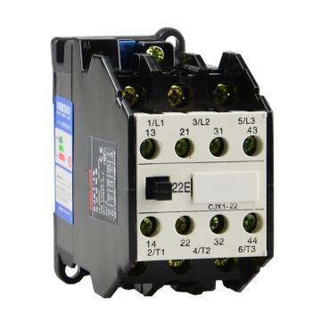 德力西 直流线圈接触器,CJX1-22/22Z 24V,CJX12222BZ