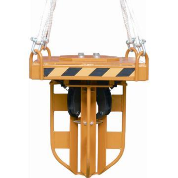 虎力 吊車專用油桶吊夾,額定載荷:400kg,DY4