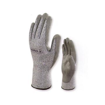 代尔塔DELTAPLUS 4级防割手套,202011-9,4级PU涂层防割手套 VENICUT42