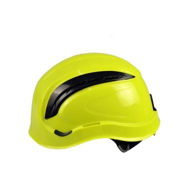 代尔塔DELTAPLUS 运动安全帽,102202,通风型运动头盔 黄