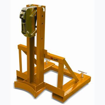 虎力 叼扣式叉车专用油桶搬运夹,360kg(单筒/钢桶)