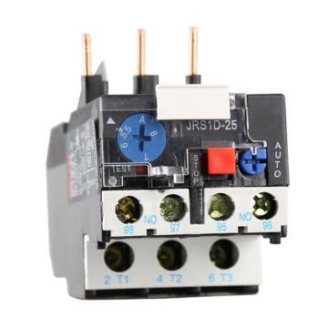 德力西DELIXI 热过载继电器,JRS1D-25/Z 0.4-0.63A,JRS1D25P63