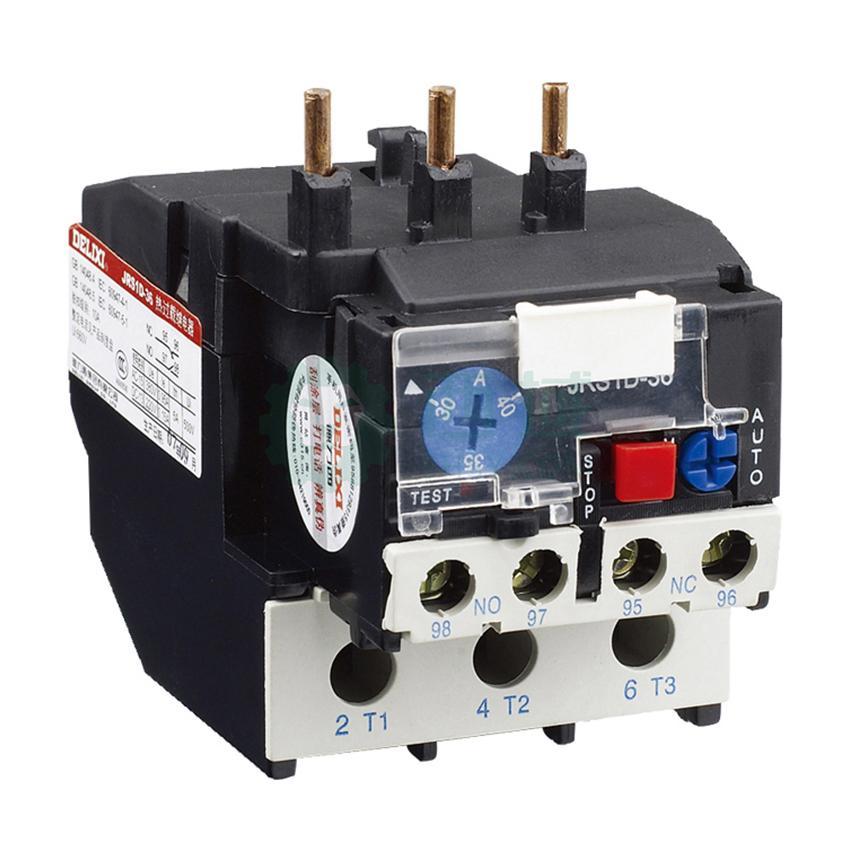 德力西 热过载继电器,jrs1d-36/z 30-40a,jrs1d3640