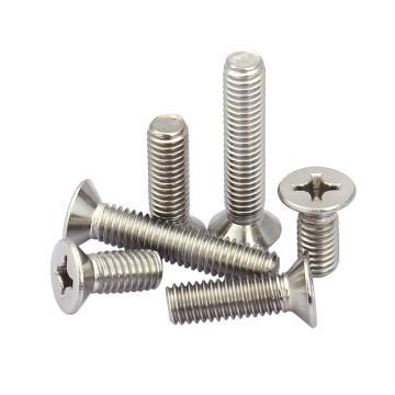 十字槽沉头机螺钉,GB819,M3-0.5×18,不锈钢A2,250个/包