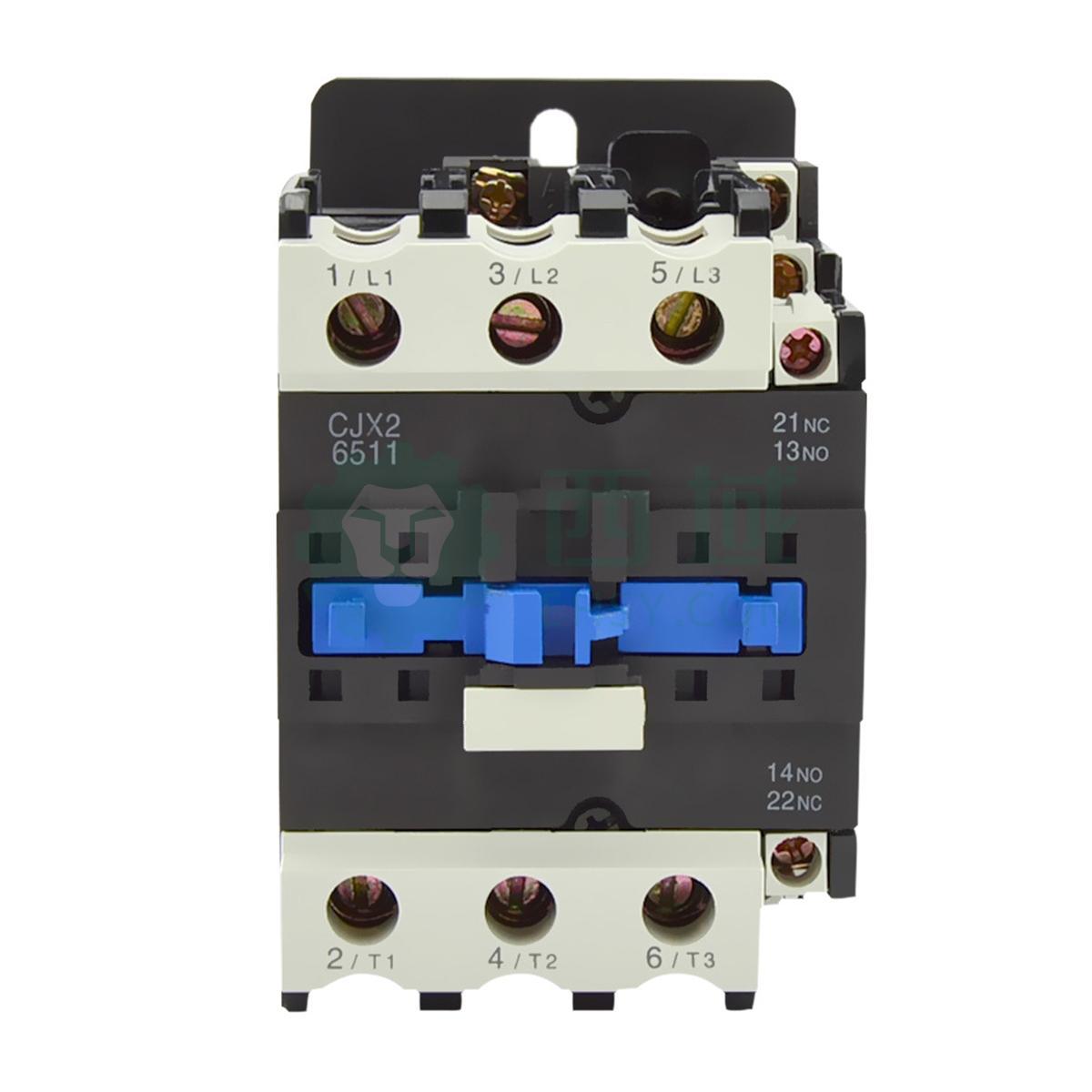 正泰cjx2交流线圈接触器,cjx2-6511 42v