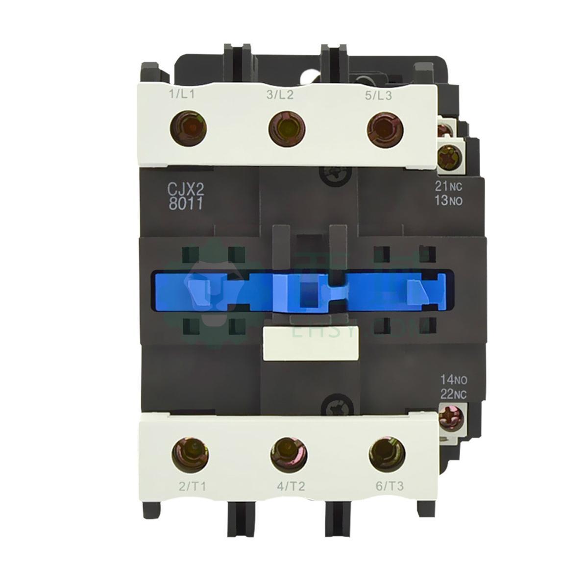 正泰cjx2交流线圈接触器,cjx2-8011 42v