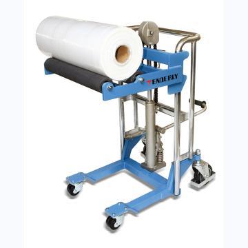 西域推荐 400kg 卷筒工位车 适用筒形物最大直径Φ544mm 工作面升高高度220-1620mm,PF4150R