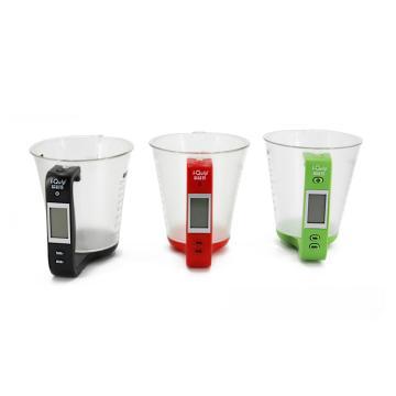 电子称量杯,600ml,1000g,红色,1个/盒